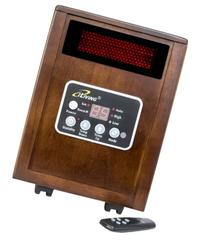 iLIVING Infrared Portable Space Heater with Dual Heating