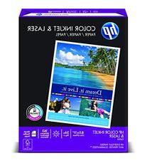 HP Paper, Color Inkjet & Laser Paper Poly Wrap, 24 lbs, 8.5