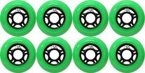 OUTDOOR Inline Skate Wheels ASPHALT Formula 80MM 89a GREEN
