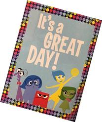 "Inside Out Super Plush Throw ""It's a Great Day"