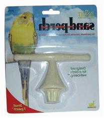 JW Pet Company Insight Sand Perch T Perch Bird Accessory,