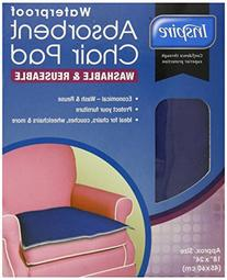 Inspire Washable Waterproof Chair Pad for Incontinence, 18