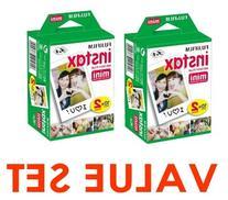 Fujifilm Instax Mini Instant Film, 2 x 10 Shoots x 2Pack