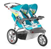InStep Grand Safari Swivel Wheel Double Jogging Stroller -