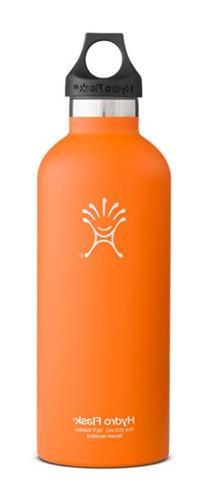 Hydro Flask Narrow Mouth Drinking Bottle, Orange Zest, 18-