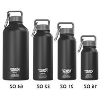 Healthy Human 32 oz Water Bottle - Cold 24 Hrs, Hot 12 Hrs.