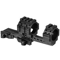 UTG Integral 30mm Offset QD Mount, 4 Top Slots, 100mm Base