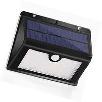 Intelligent Solar Powered Motion Sensor Lights- Day / Night