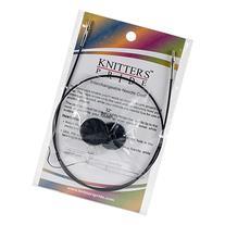 "Knitter's Pride Interchangeable Cords, 22"", Black"