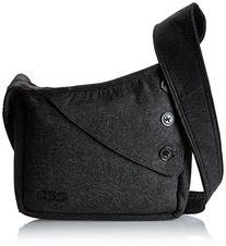 OGIO International Brooklyn Purse Sling Bag, Dark Gray Felt