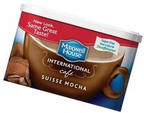 Maxwell House International Coffee Decaf Sugar Free Suisse