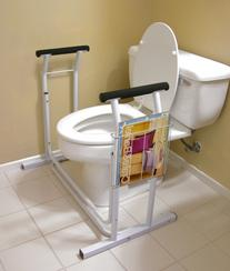 Jobar International JB4349 Deluxe Toilet Safety Support