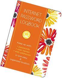 Internet Password Logbook - Botanical: Keep Track Of: