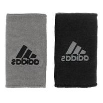 adidas Interval Large Reversible Wristband, Black/White /