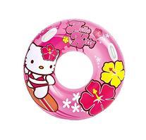 NEW! Intex Hello Kitty Inflatable Kids Floating Tube Pool