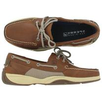 Sperry INTREPID 0777401 Wicker Olive 9.5 Medium