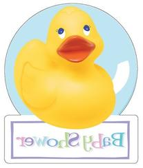 Rubber Ducky Invitations