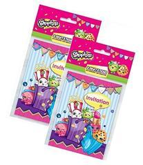 Shopkins Invitations Pack