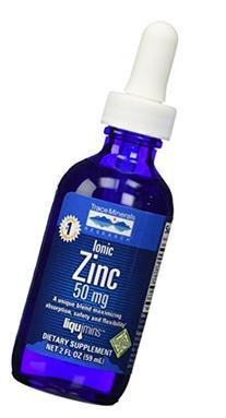 Ionic Zinc - Trace Minerals - 2 oz - Liquid