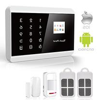 IOS Android APP GSM&PSTN Touch Pad Home Alarm Security