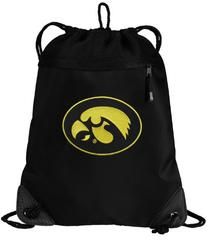 Iowa Hawkeyes Drawstring Bag University of Iowa Cinch Pack