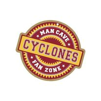Iowa State Cyclones Official NCAA Fan Zone Wood Sign by SJT