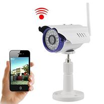 IP Camera,  720P 1.0 MegaPixel P2P Plug & Play Wifi Infrared