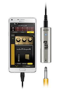 IK Multimedia iRig HD-A digital guitar interface for Samsung