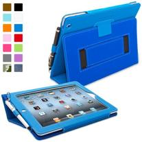 Snugg iPad 2 Case - Smart Cover with Kick Stand &  for Apple
