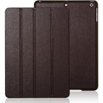 iPad Air case, INVELLOP Chocolate Brown Leatherette Case