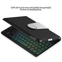 JETech Bluetooth Keyboard Case for Apple iPad 2 3 4 , 360