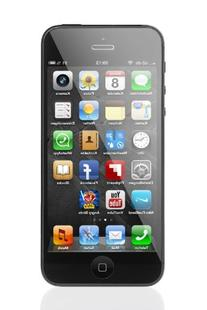 Apple iPhone 5 Cellphone, 16GB, Black