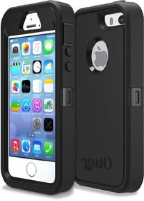 OtterBox Defender Series Case for iPhone 5/5s/SE - Black -