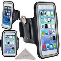 iPhone 6 / 6s Armband, Wisdompro Reflective Running Exercise