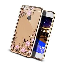 iPhone 6/6s Case, UnnFiko Beauty Butterfly Luxury Bling