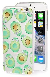 Skinnydip 'Googly Avocado' Iphone 6 & 6S Case - Green