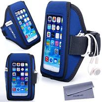 iPhone 6, 6s Armband for Running Exercise, Wisdompro Sports