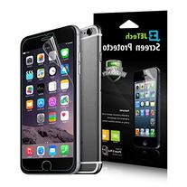 iPhone 6s Plus Screen Protector, JETech 3-Pack Screen
