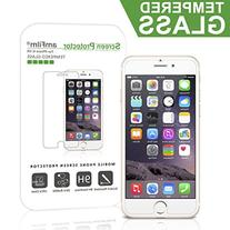 iPhone 6S Screen Protector Glass, amFilm  2.5D Tempered