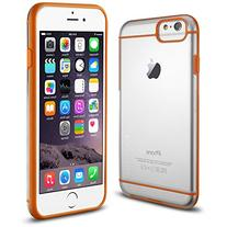 iPhone 6S case, INVELLOP ORANGE/CLEAR iPhone 6 / 6S Case