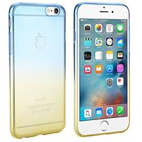 iPhone 6S Case, Dealgadgets Ultra Soft Colorful Clear Shell