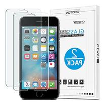 iPhone 6S Plus Screen Protector,  OMOTON Tempered Glass