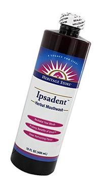 Ipsadent Herbal Mouthwash 16 OZ