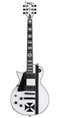 ESP LTD Iron Cross James Hetfield Signature Snow White