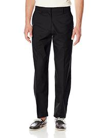 Dockers Men's Iron Free Khaki D4 Relaxed Fit Pant, Black