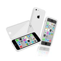 iSee Case White Gel Slim TPU Protective Cover Case Built in