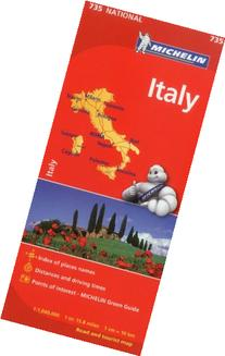Michelin Italy Map 735