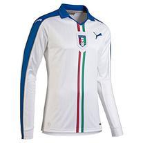 Puma Italy Home Soccer Jersey Long Sleeve 2015