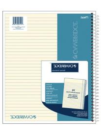 Cambridge Ivory Wirebound Notebook, 70 sheets