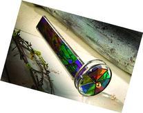 J Devlin Kal 110 Double Wheel Stained Glass Kaleidoscope